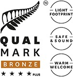 Qualmark 4 Star Plus Bronze Award Logo
