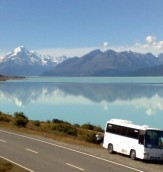 Mountains - Lake Pukaki Reflection