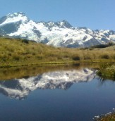 Mountains - Reflected Mt Sefton