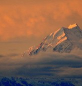 Mountains - Sunset Mt Cook