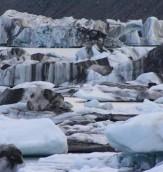 Ice - Tasman lake Ice Floes