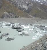 Ice - Tasman Lake Viewpoint