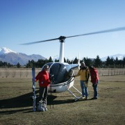 <p>Heli-skiing direct from your door!</p>