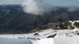 Snowboarding in Wanaka in October?